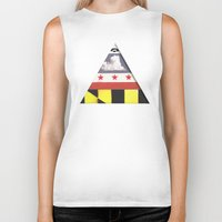 maryland Biker Tanks featuring Maryland by Jason Douglas Griffin