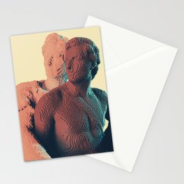 3d pixels are voxels Stationery Cards