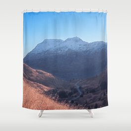 Fall in Alaska Photography Print Shower Curtain