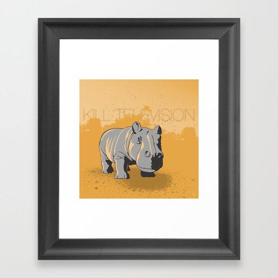 Kill Television Framed Art Print