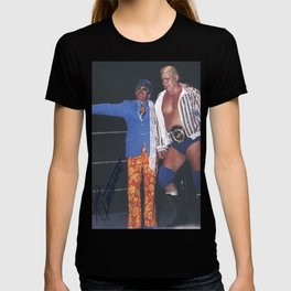 Pat Patterson Pierre Clermont Canadian American Wrestler Intercontinental Champion T-shirt