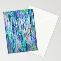Silver Rain Stationery Cards