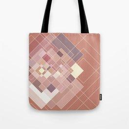 GeoPink Tote Bag