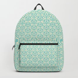 Tri-Star Teal Backpack