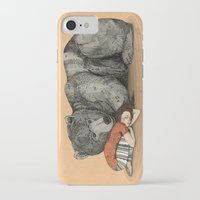 power iPhone & iPod Cases featuring Huntress by Sandra Dieckmann