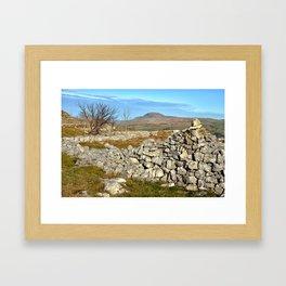 Views of Pen Y Ghent, North Yorkshire Framed Art Print