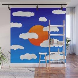 Summer Sky Wall Mural