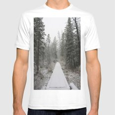 Silverthorne, CO Mens Fitted Tee White MEDIUM