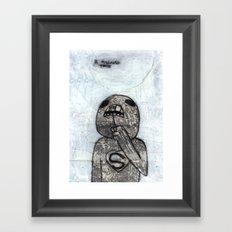 D. Pulling Teeth - Pre-Horn Barry Framed Art Print