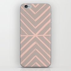 Intersect - in Apricot iPhone & iPod Skin