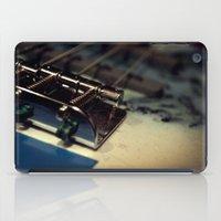 bass iPad Cases featuring Bass by Michael Larkin