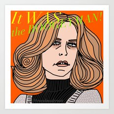 Female Trouble Series: Laurie Strode from Halloween Art Print