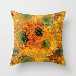 floral mix Throw Pillow