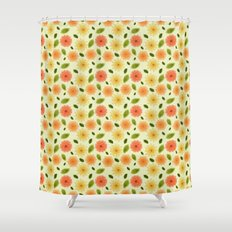 Fresh Floral Shower Curtain