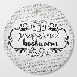 Professional Bookworm Paper Cutting Board