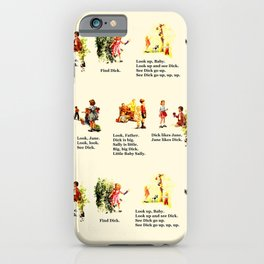 Adventures of Dick & Jane iPhone Case