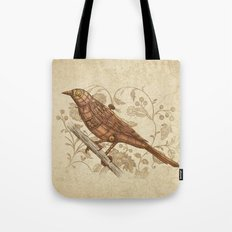 Steampunk Songbird  Tote Bag