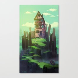 The Spirits of the Valley Canvas Print