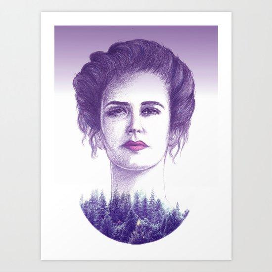Eva Green/vanessa Art Print