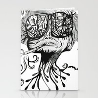 fear and loathing Stationery Cards featuring Fear & Loathing by Saravo Studio