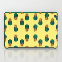 pineapples iPad Cases featuring PINEAPPLES by Heaven7