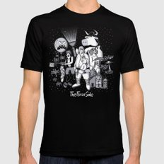 The Force Side X-LARGE Mens Fitted Tee Black