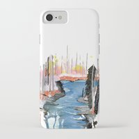 river iPhone & iPod Cases featuring River by Halfmoon Industries