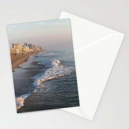Golden Hour in Virginia Beach Stationery Cards