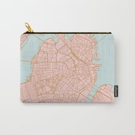 Boston map Carry-All Pouch