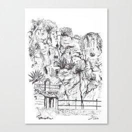 Marjan Hill in Split Canvas Print