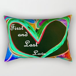 First and Last Love Rectangular Pillow