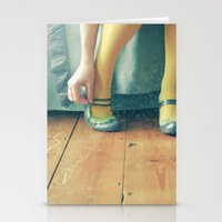 good morning Stationery Cards featuring Good Morning by Cassia Beck