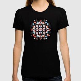 Folkloric Ombre Lovebirds T-shirt