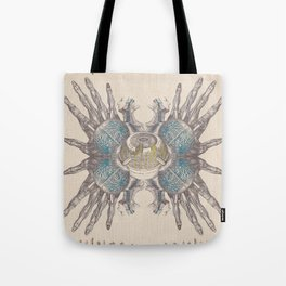 Anatomy Collage 4 Tote Bag