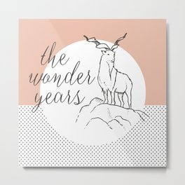 the wonder years Metal Print