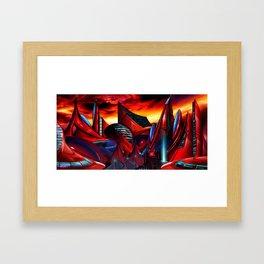 Velarias Major Framed Art Print
