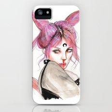 black lady Slim Case iPhone (5, 5s)