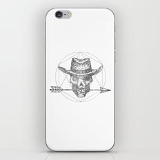 Dead Sheriff Greyscale iPhone Skin
