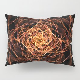 Fire Rose Pillow Sham