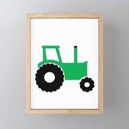 Farm Boy Farmer Gift Framed Mini Art Print