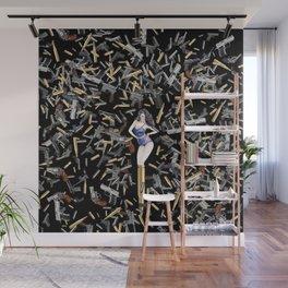 Bullet Girl Wall Mural