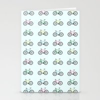 bicycles Stationery Cards featuring Bicycles by amyhartdesign