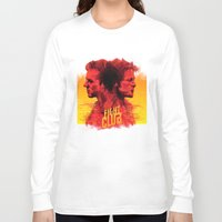 fight Long Sleeve T-shirts featuring fight  by İsmail Kocabas