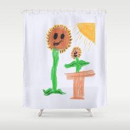 plant flower Shower Curtain