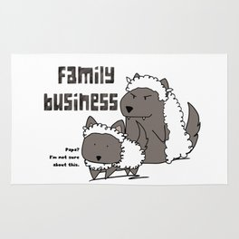 Family Business Rug