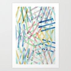 Microscopic Play Art Print