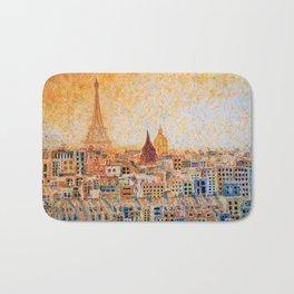 Spring Sunrise in Paris Bath Mat