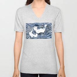 Water Nymph V Unisex V-Neck