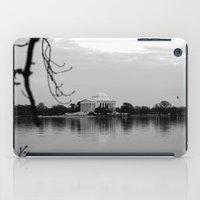 washington dc iPad Cases featuring Washington DC by mariavilla