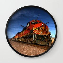BNSF Freight  Wall Clock